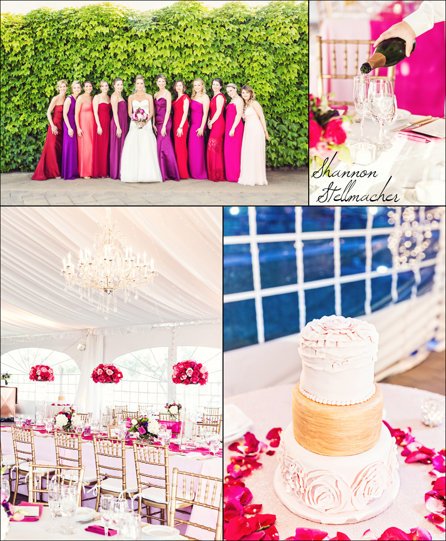 Pink Wedding At Viansa Sonoma
