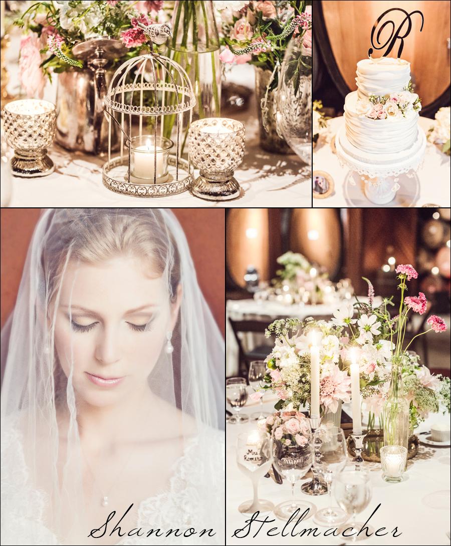 Romantic Pink Napa Wedding