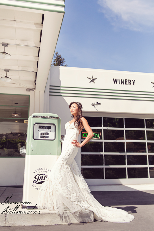 vintage style gas station winery web