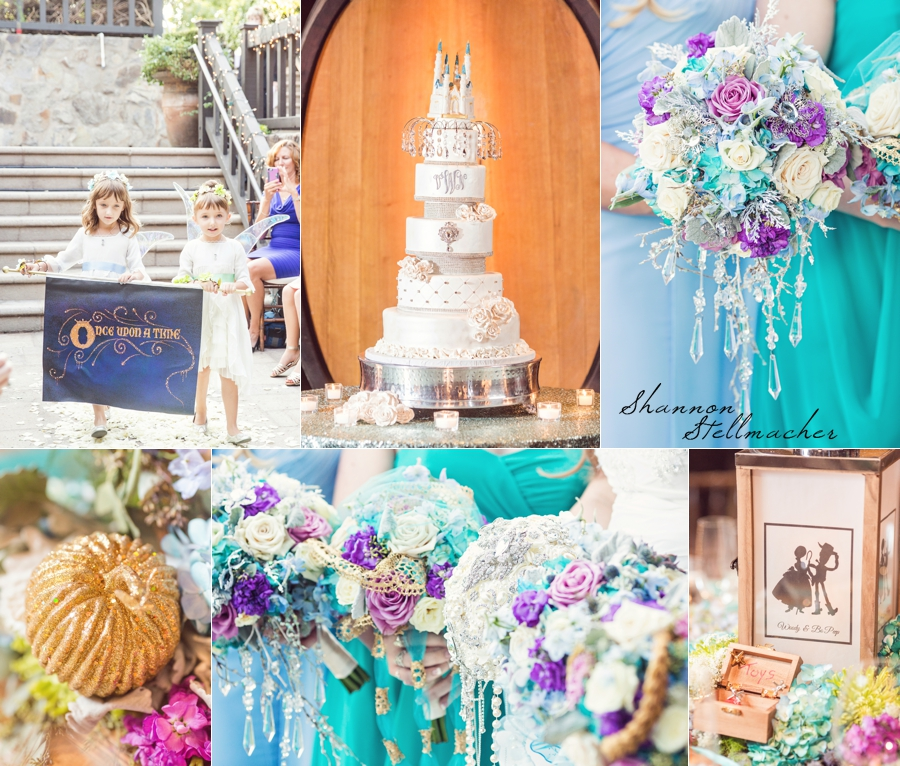 Disney Themed Wedding at V. Sattui Winery