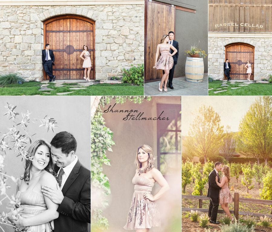 Sonoma Engagement Photography at Madrone Estate