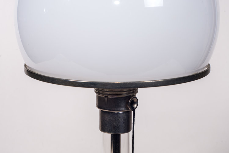 Wilhelm Wagenfeld Table Lamp With Glass Base Turner Helton Antiques