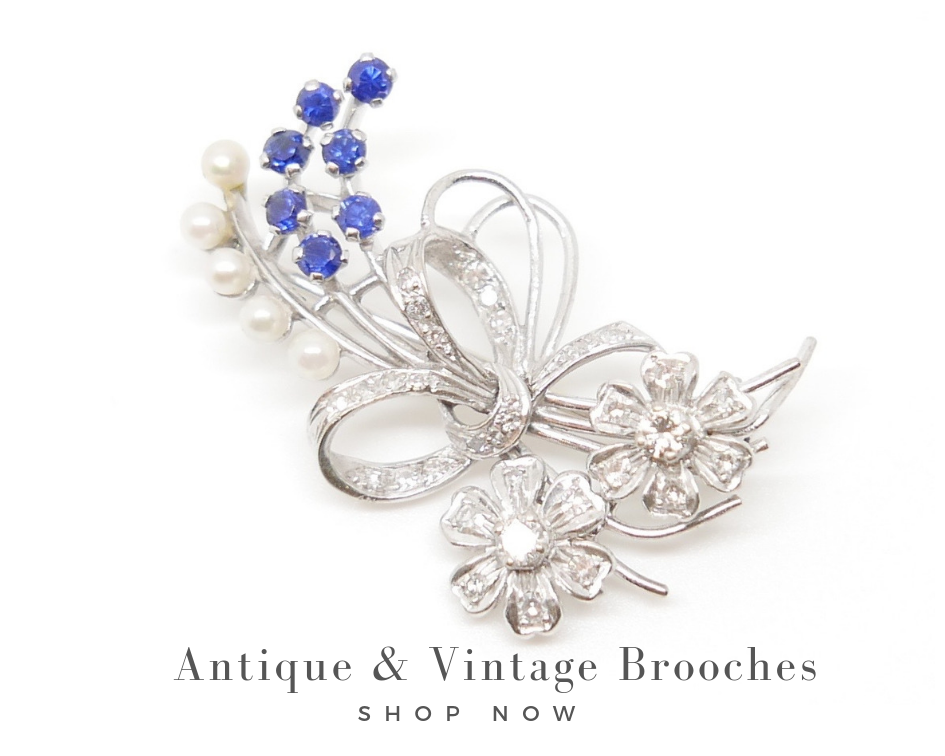 antique and vintage brooches