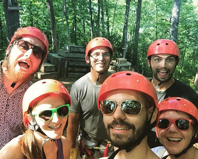 A little post eclipse zip lining fun from Monday. Can't wait to go back!