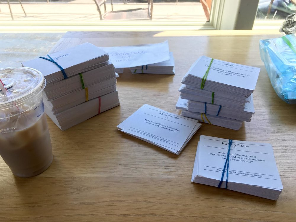 ALL THE FLASHCARDS.