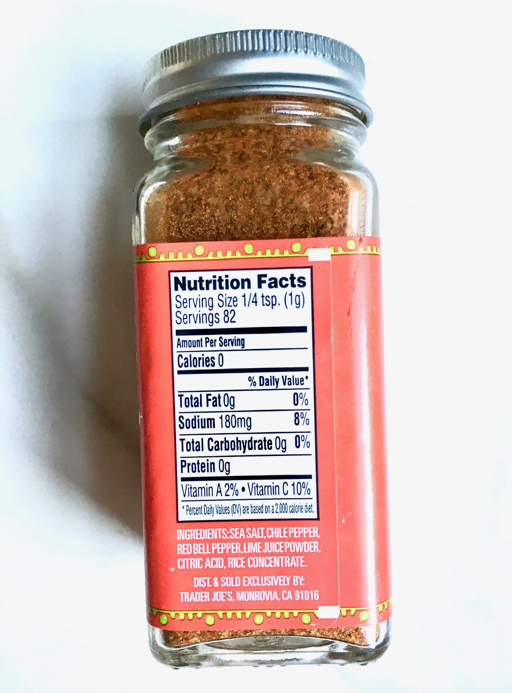 Sharing this incase you don't have a TJ's near you! Just mix the spices in the ingredients list together :)