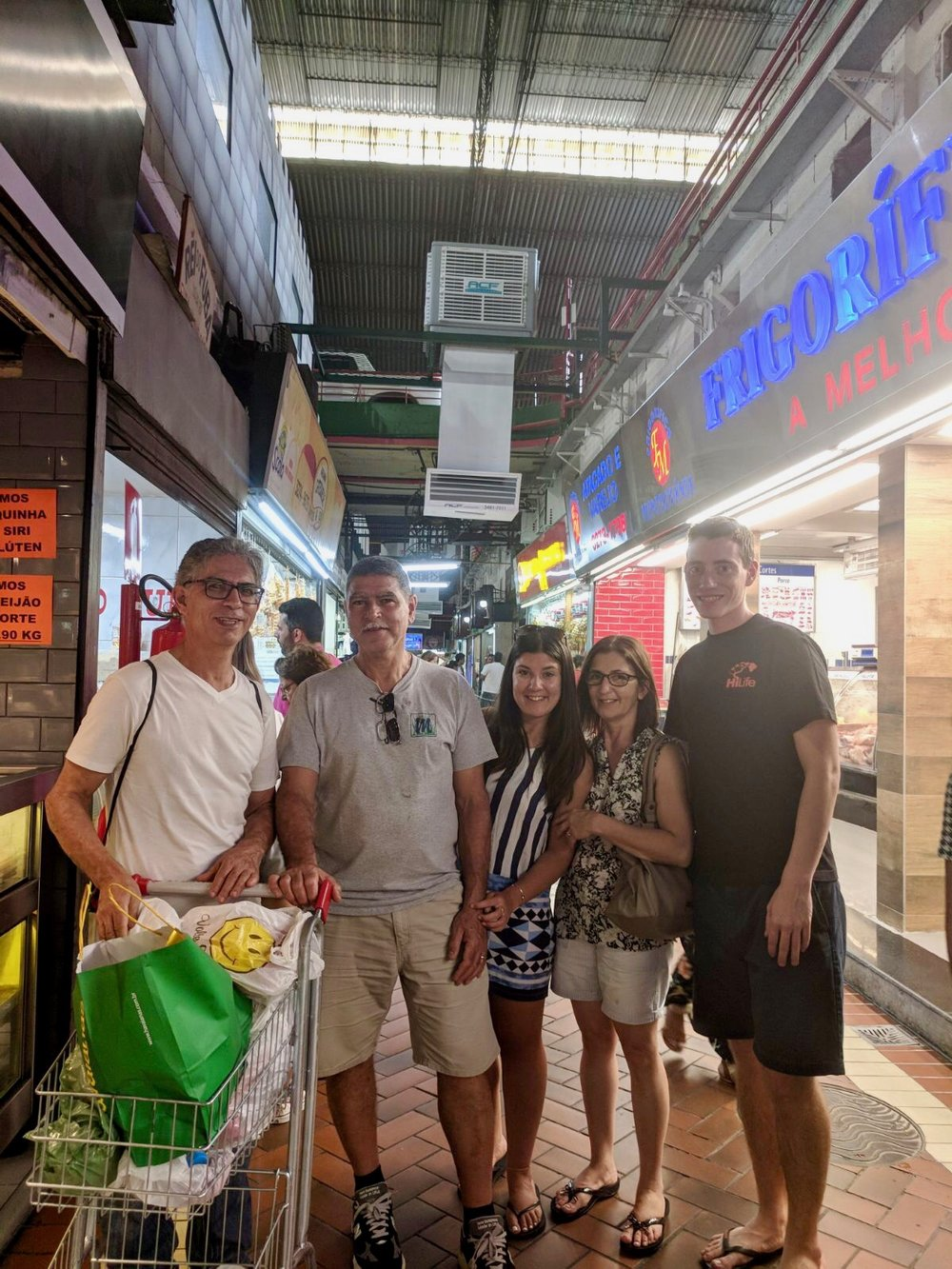 On our last day my aunt and uncle took us shopping at Mercado Central which is a huge indoor marketplace in Belo Horizonte. We got tons of things like bamboo shot glasses (duh), guava paste, spices and havaianas!