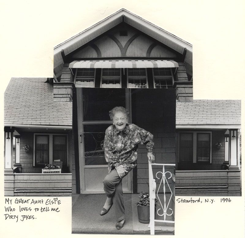 My Great Aunt Elsie, Stamford, NY