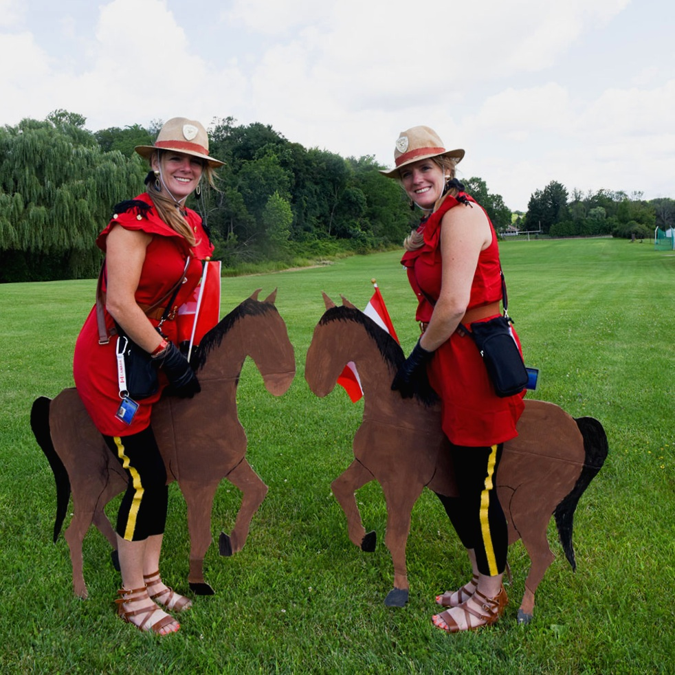 Double Mounties
