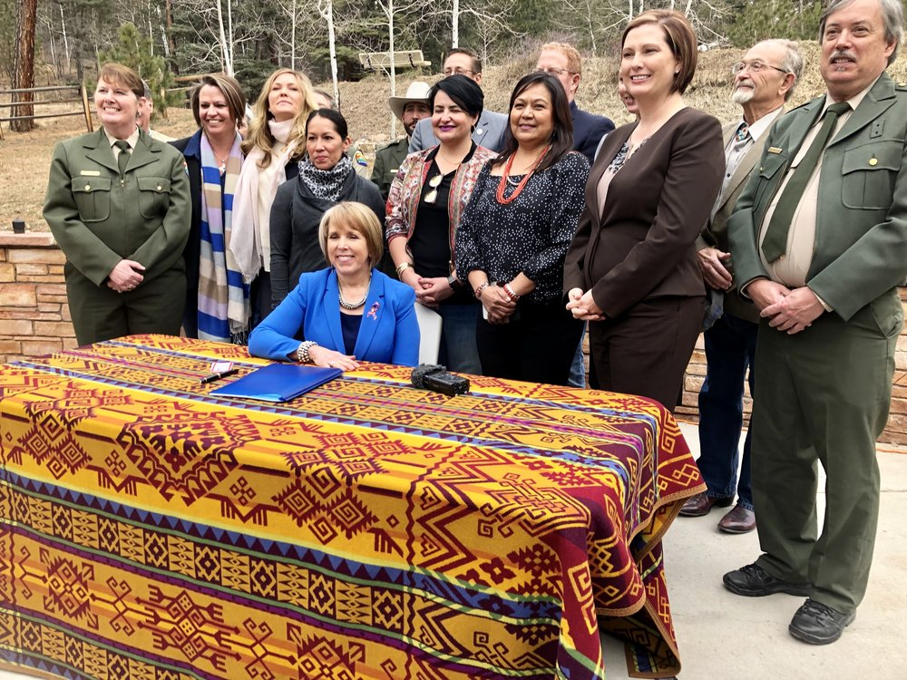 OEF Bill Signing