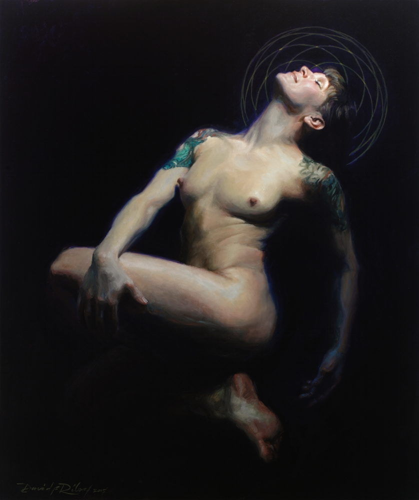 "The Path of Venus    Oil on linen, 36x30""  $8500  Available through Oil Painters of America Annual Show"
