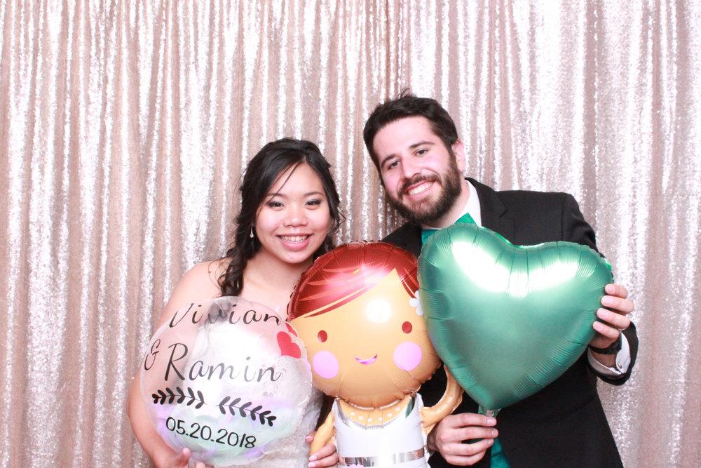 Vivian and Ramin - May 20, 2018