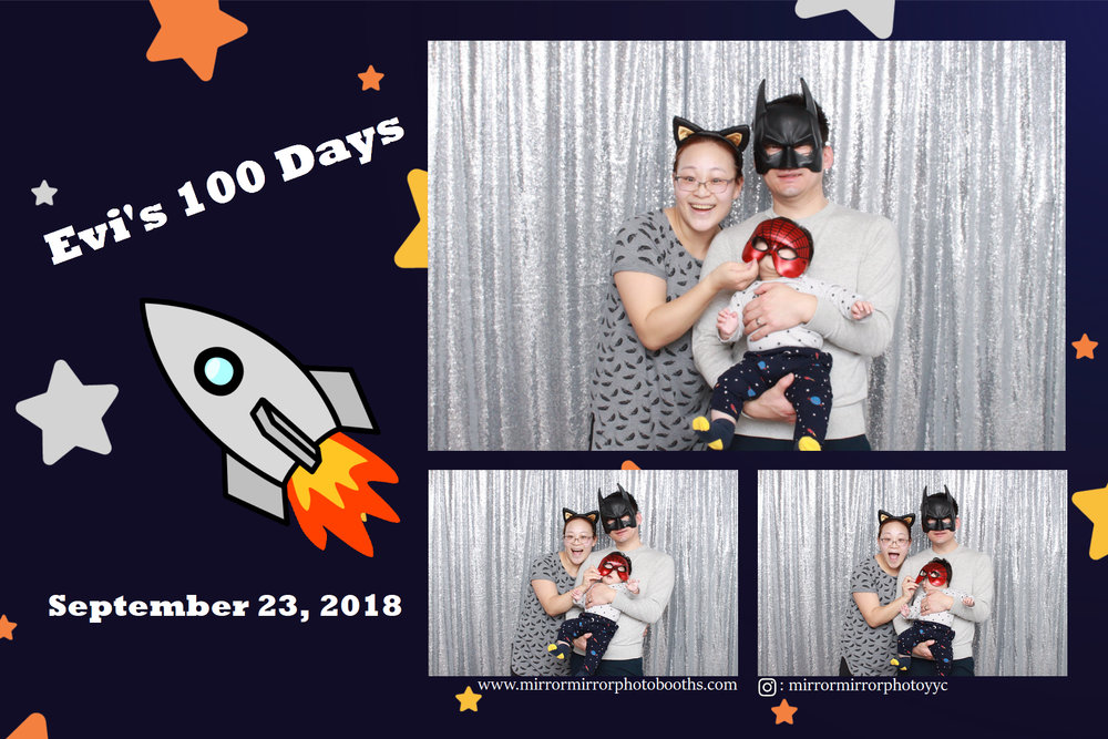 Evi's 100 Day - Sept 23, 2018