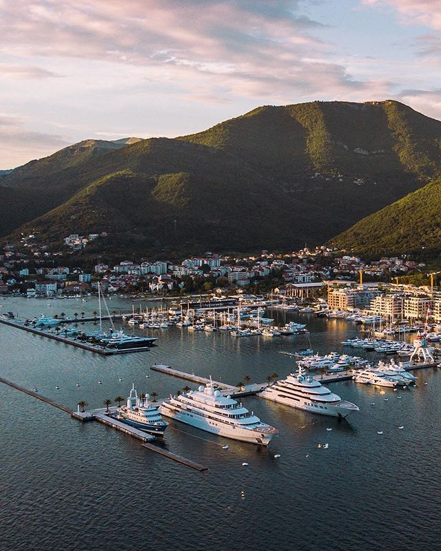 Roaming around Tivat in the summer shooting content for @crew_board 🛥🌅 ⠀⠀⠀⠀⠀ So proud of Chay and what he's building, looking forward to the launch in a few months time! 🚀 @chay.dh