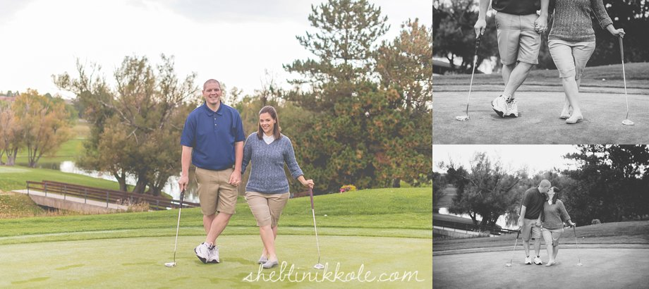 denver family photographer, denver family photography, golfing family photos, fall family photos