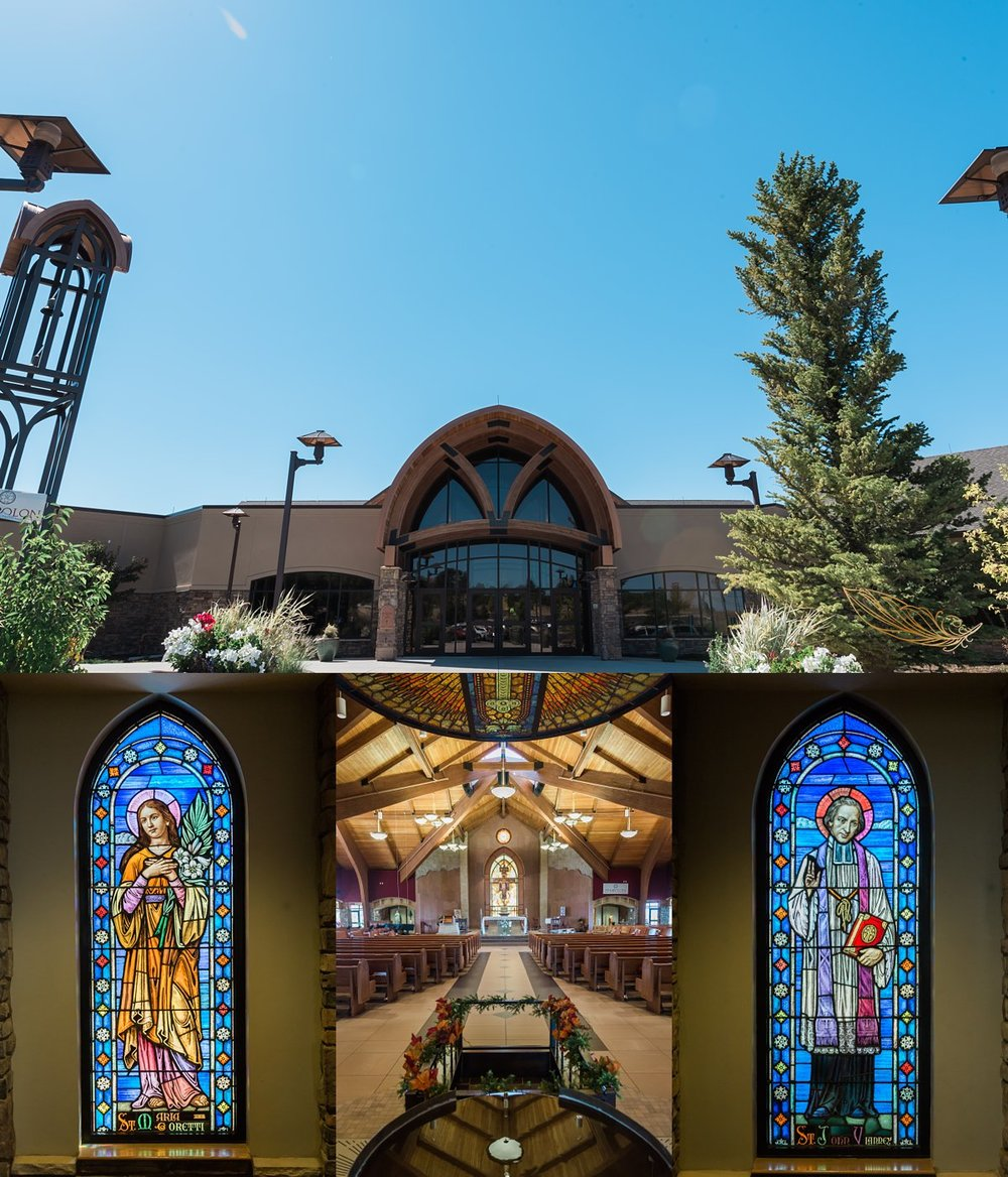 st francis of assisi church, castle rock, co photographer