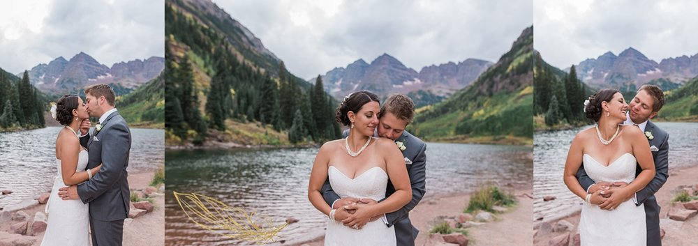 maroon bells fall wedding, fall wedding photography, rocky mountain fall wedding photographer, aspen wedding, adventurous wedding photographer