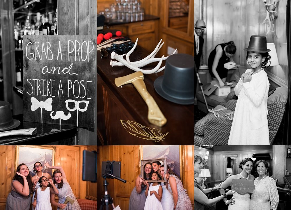 diy photobooth, caribou club wedding, colorado wedding photographer