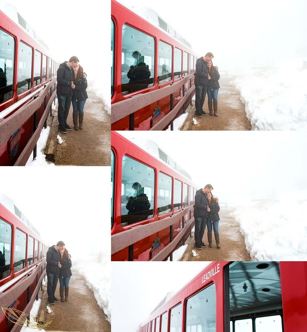 cog railway engagement, colorado wedding photography, southern colorado wedding photographer