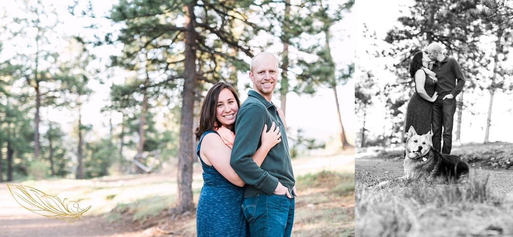 evergreen wedding photographer, evergreen engagement session, rocky mountain wedding photographer
