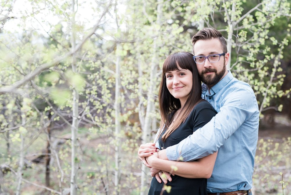 hipster style, mountain top engagement session, denver wedding photographer, mountain wedding photographer