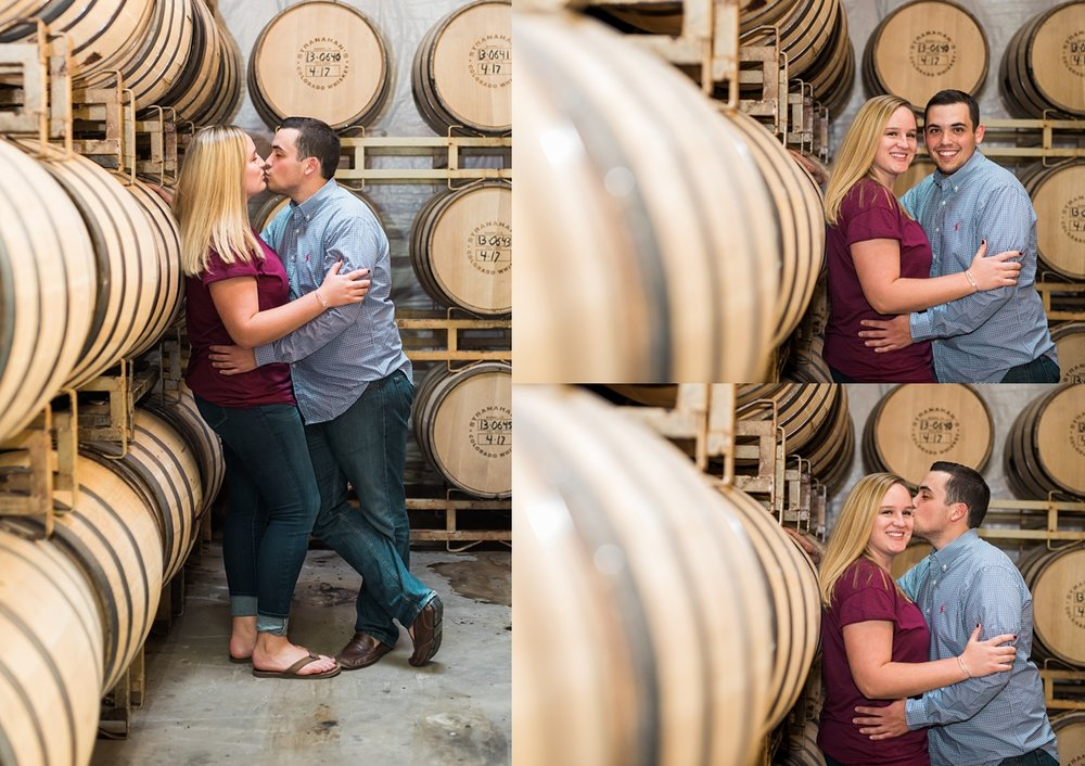 barrell room engagement session, denver wedding photographer, rocky mountain wedding photographer