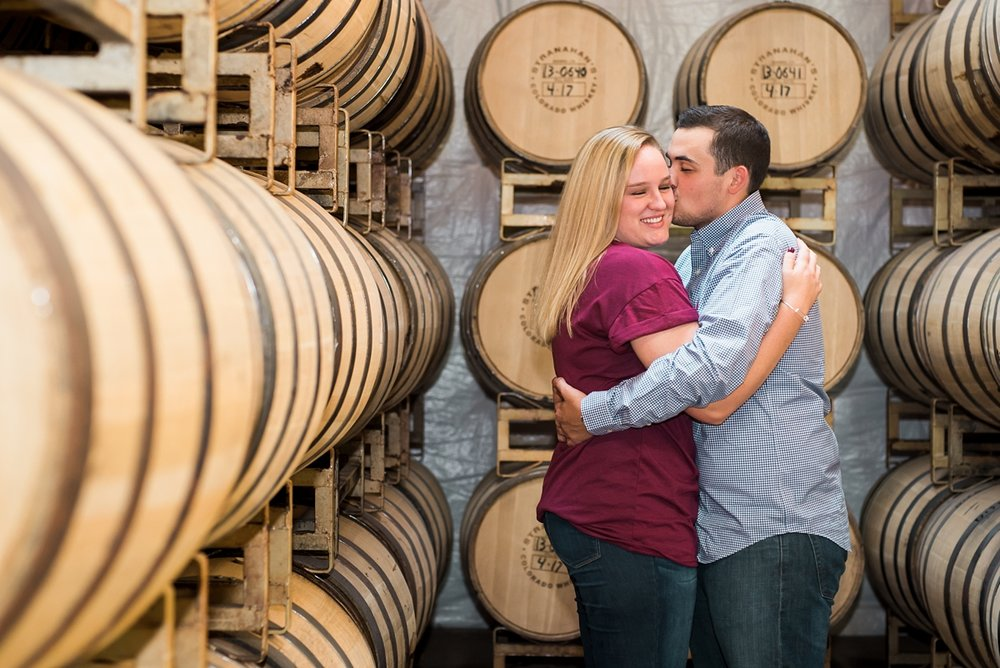 whiskey barrell room engagement session, colorado mountain wedding photographer, denver wedding photographer