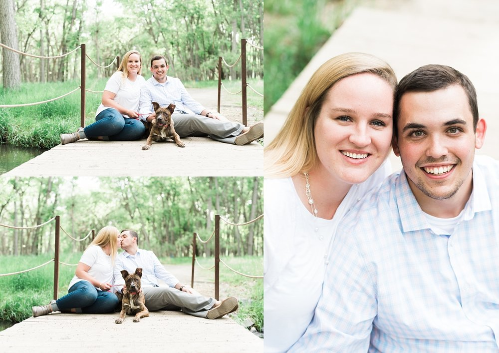 engagement sessions with dogs, dog engagement sessions, including your dog in your engagement session, denver wedding photographer