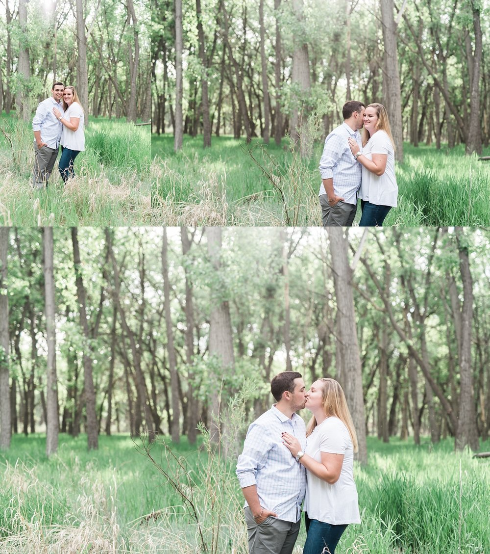 woodsy engagement session, state park engagement session, denver wedding photographer