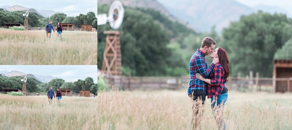 rustic colorado engagement session, denver wedding photographer, co mtn wedding photographer