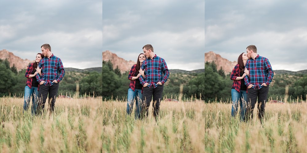 garden of the gods engagement session, denver wedding photographer, rocky mountain wedding photographer