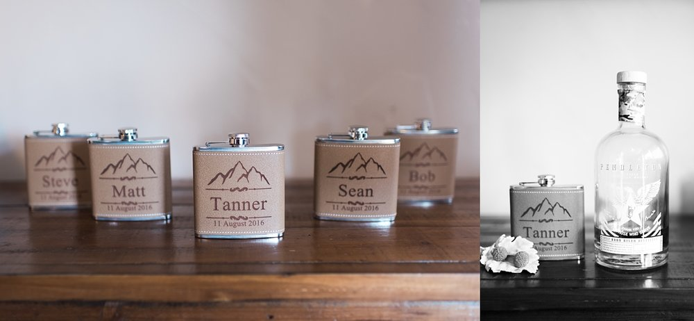 custom-flasks, colorado-wedding-details, denver-wedding-photographer
