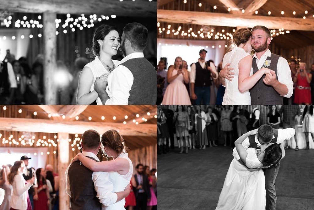 first-dance-photos, colorado-mountain-wedding-photographer