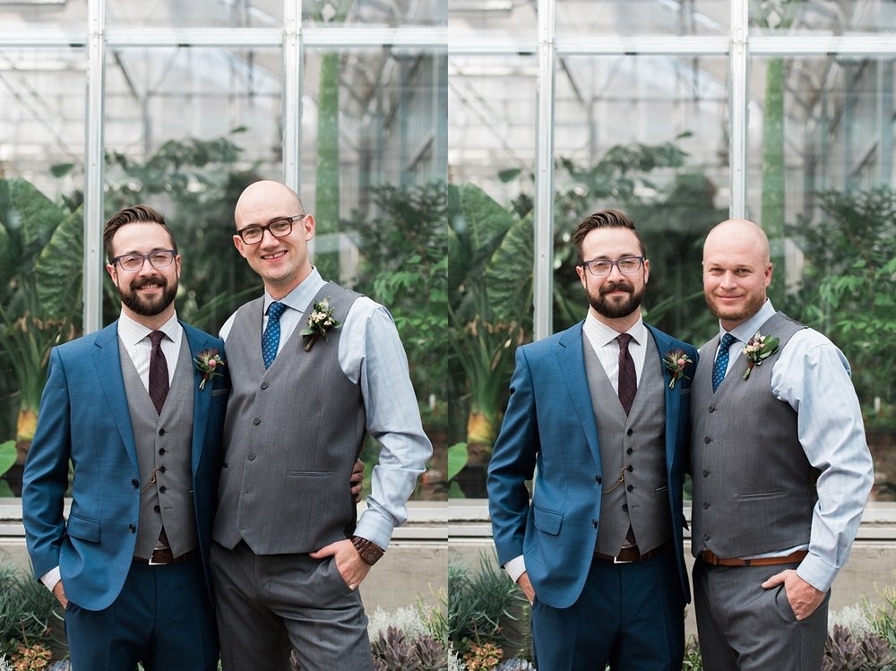 groomsmen-photos, garden-wedding, denver-wedding-photographer