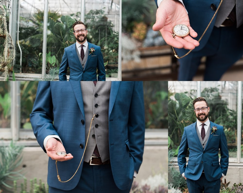 groom-photos, denver-botanic-garden-wedding-photographer
