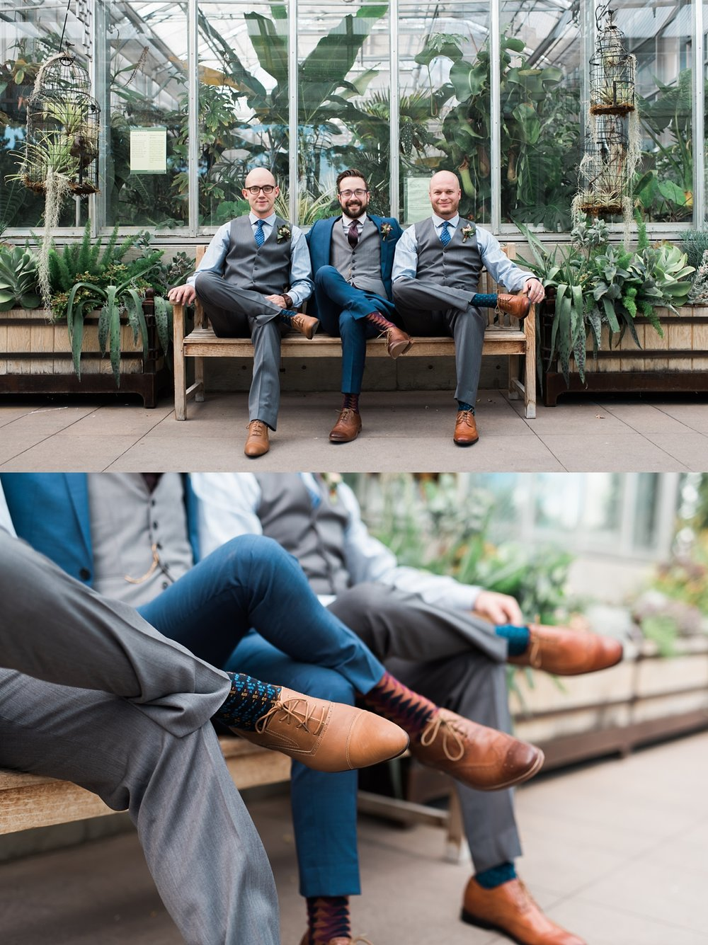 groomsmen-photos-denver-botanic-gardens, denver-wedding-photographer