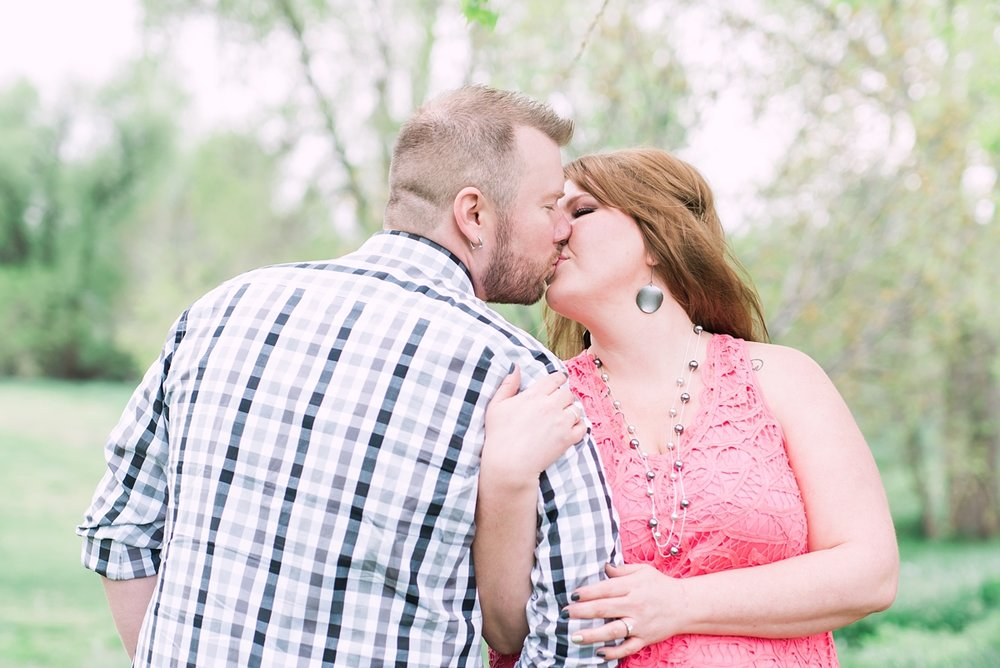Marissa + Scott had a two part engagement session. One part at Breckenridge Brewery and the other part at a park nearby. I ended up loving how their images from the park turned out because of how they were able to be themselves. See their engagement session blog here.