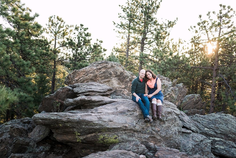 Megan + Dale's Evergreen sunrise session was so perfect! Not pictured here, but 'Bear' was amazing and stole the show. Check out their blog here.