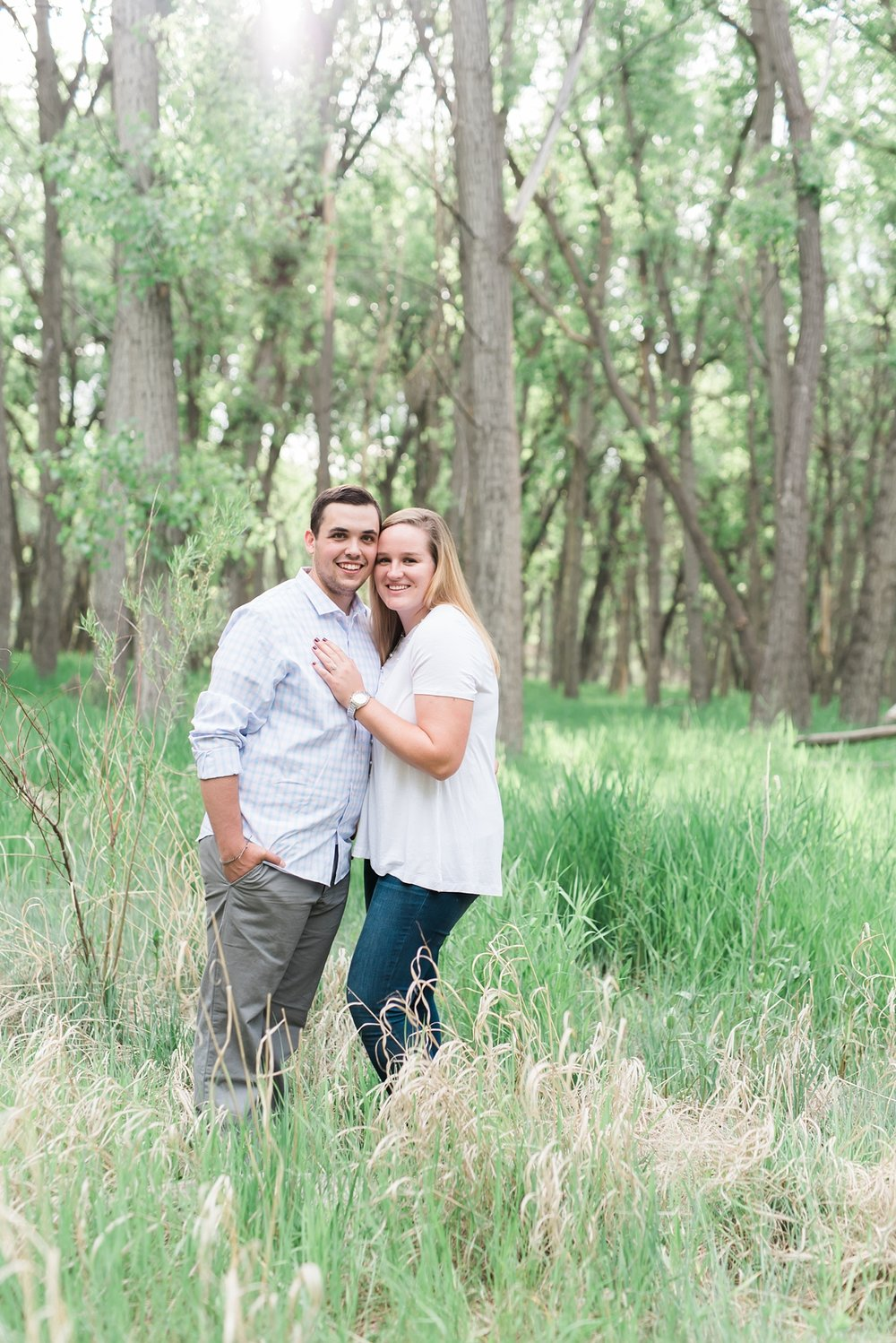 Liv + Nick are getting married Spring 2017 and their engagement session had two parts. One at Stranahan's Distillery and the other at Cherry Creek State Park.