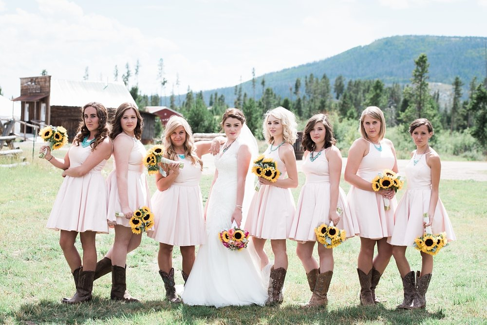 I absolutely love shooting bride + groom photos, but these bridesmaids win at 2016. They killed it and I don't think any of them took a bad photo. Tyler Jane + Tanner's Grand Lake wedding blog can be found here.