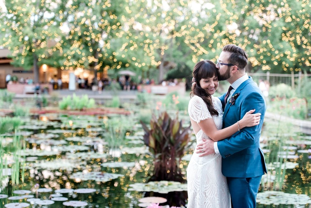 Rachel + Nate's Denver Botanic Garden Wedding was one for the books. See all the beauty here.
