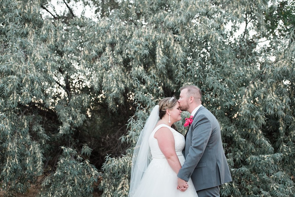 Marissa + Scott were married on private property in September.