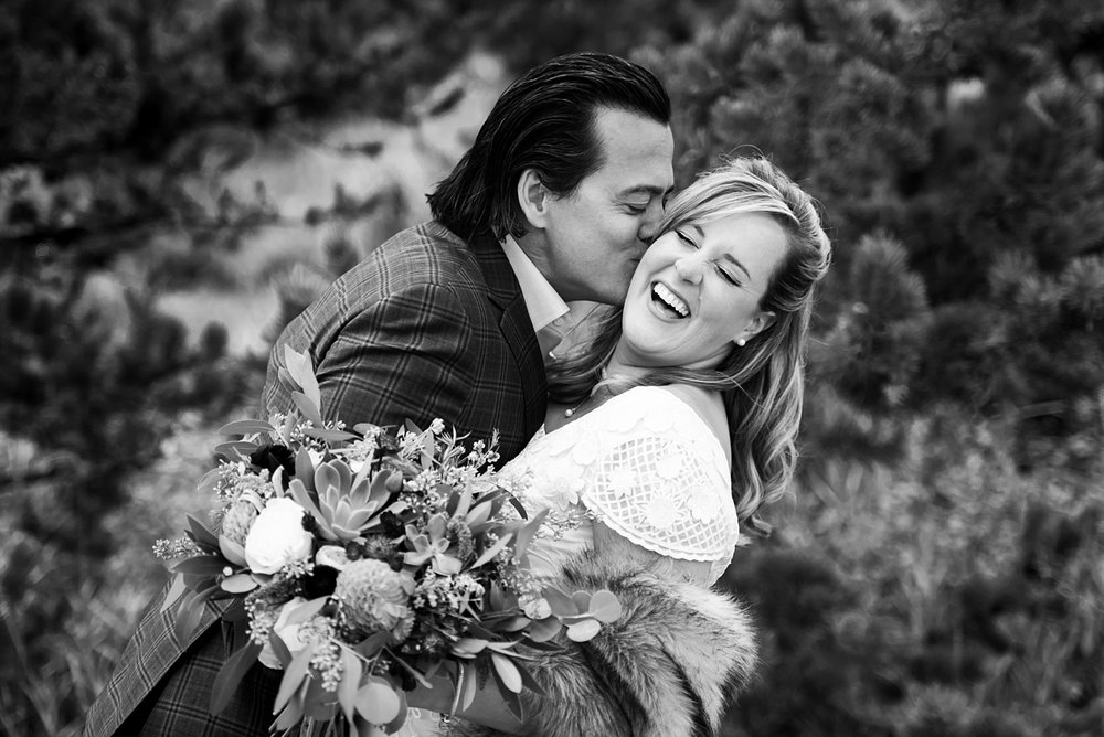 Ashley + Jeremy had the ultimate Breckenridge wedding in October.