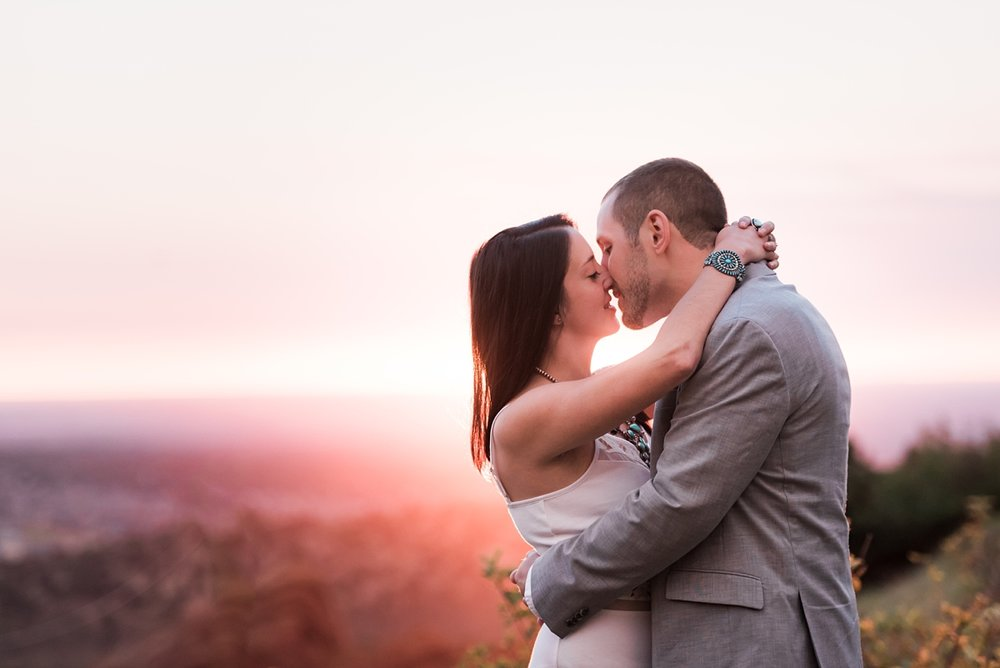 colorado-sunrise-engagement-session, denver-wedding-photographer