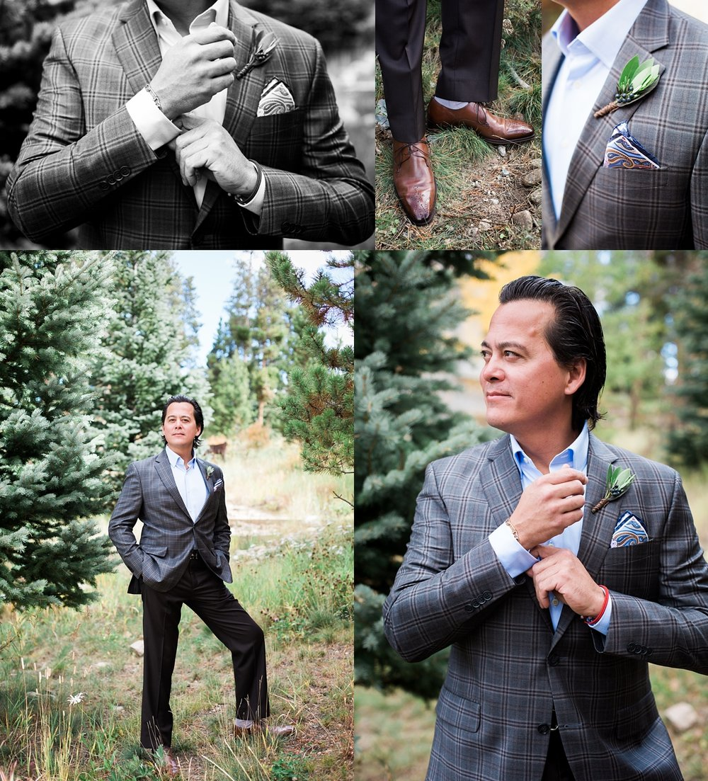 I loved Jeremy's groom style, classic with the perfect amount flair and personality.