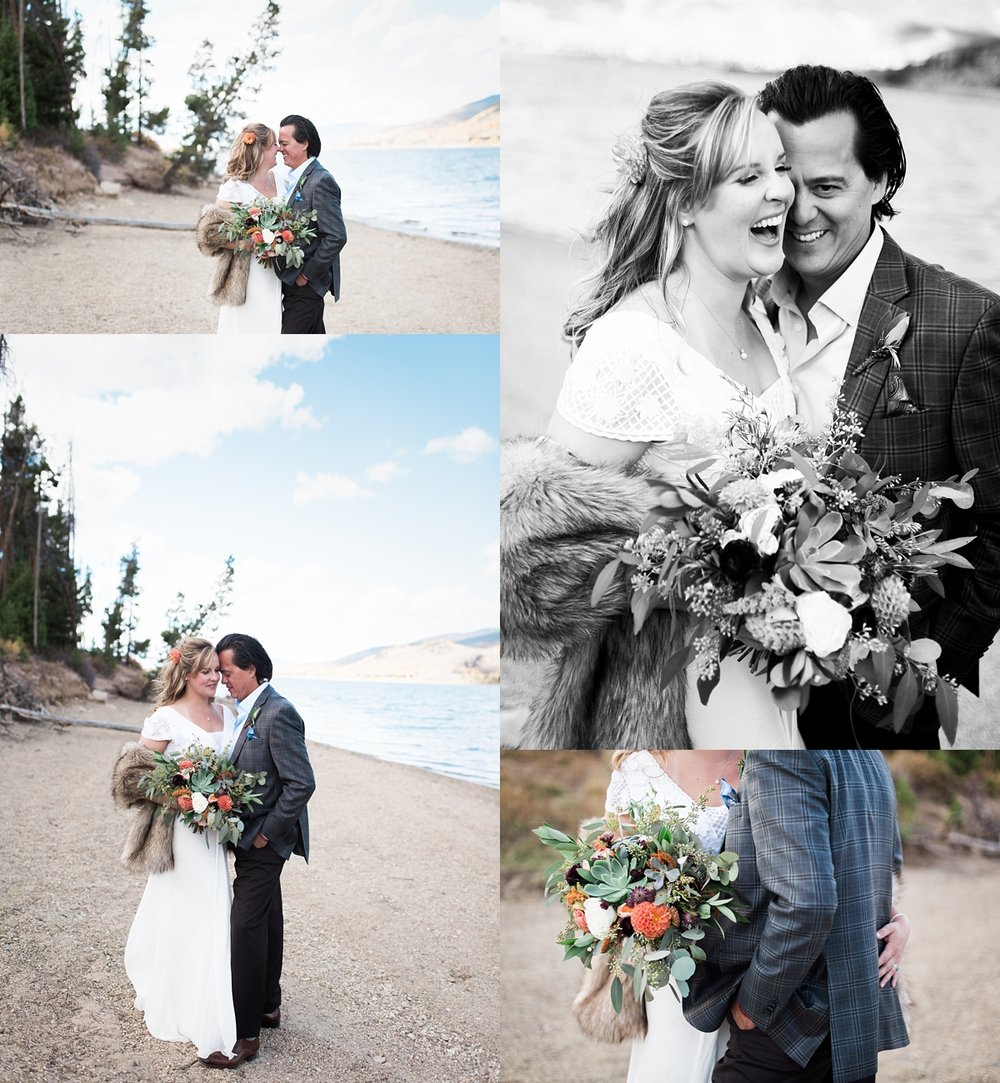 These two are incredible together. This beach on Lake Dillon was everything!