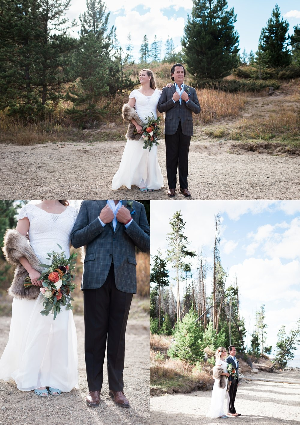 I just love how Ashley and Jeremy's wedding day style came together without being too matchy!