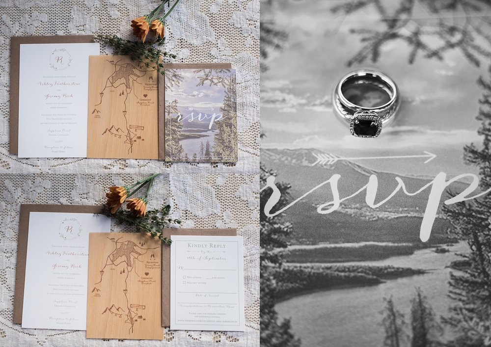 I loved this invitation suite so perfect fitted for their wedding.