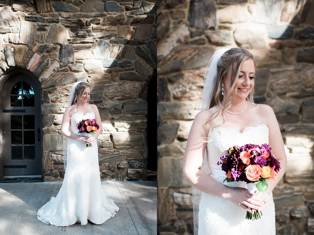 Amanda was a beautiful bride and her gown fit her perfectly!