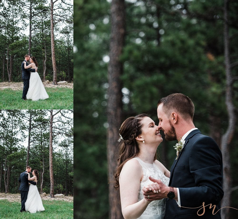 bride-groom-dancing-forest, wedgewood-black-forest, denver-wedding-photographer